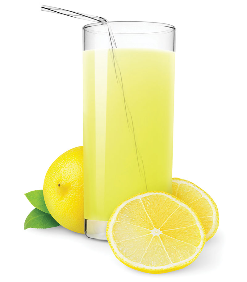 Fruit Drinks - lemonade